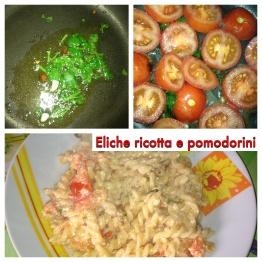 Eliche ricotta e pomodorini