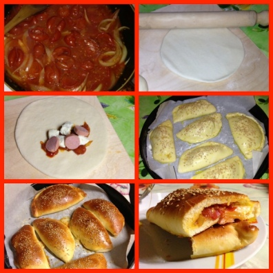 Calzoni al forno – Calzoni in the oven