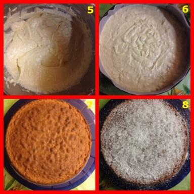 Torta Caprese Limoni
